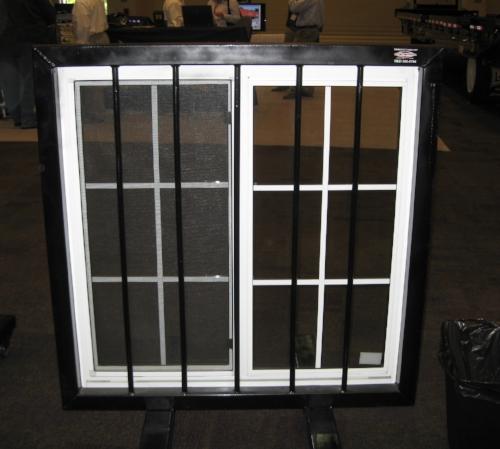 Window kit with window bar kit