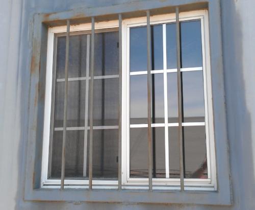 Window kit and window bar kit installed