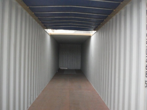 Inside partial open-top