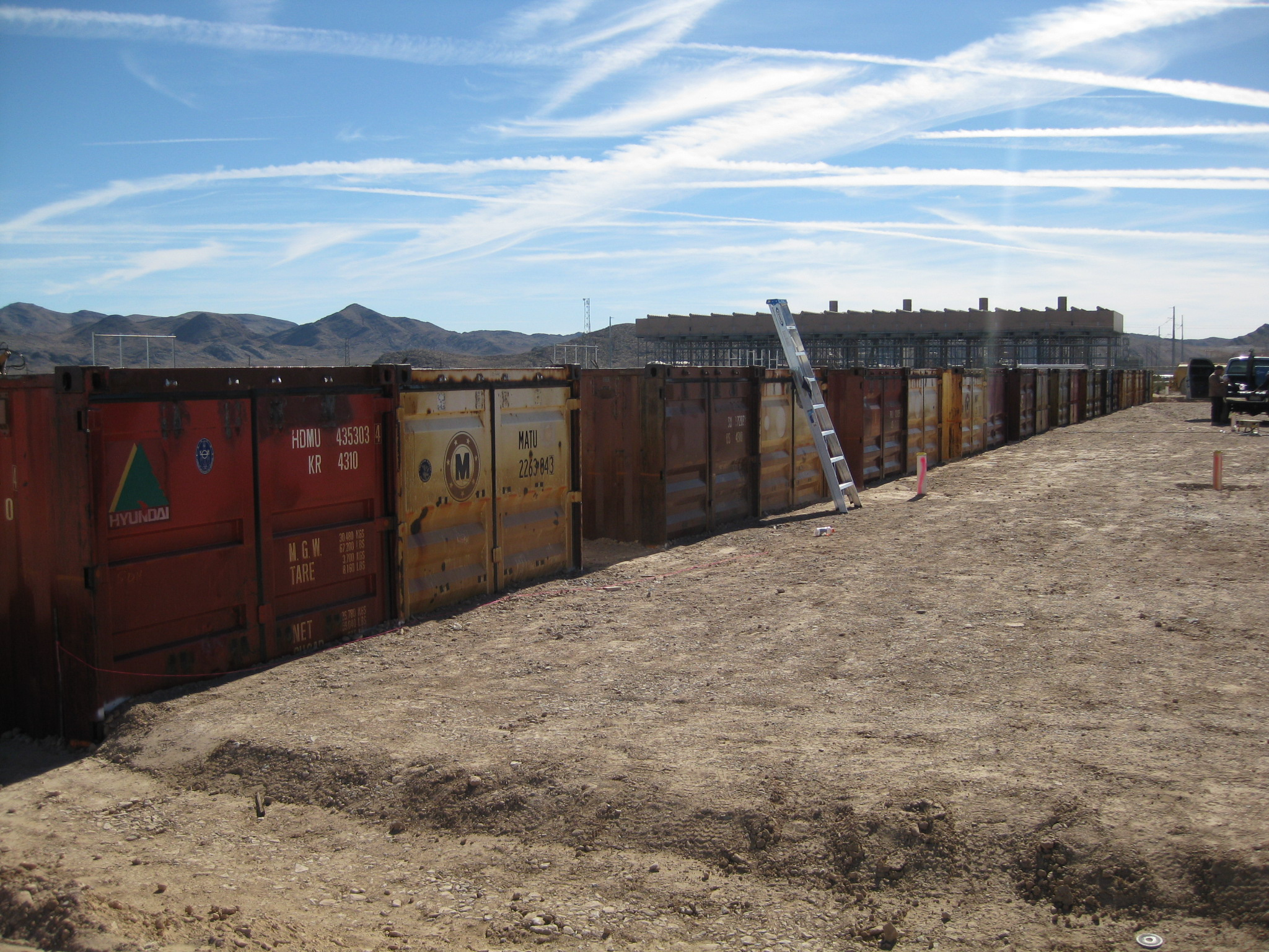 Super Cubes provided containers for a shrimp farm in Las Vegas