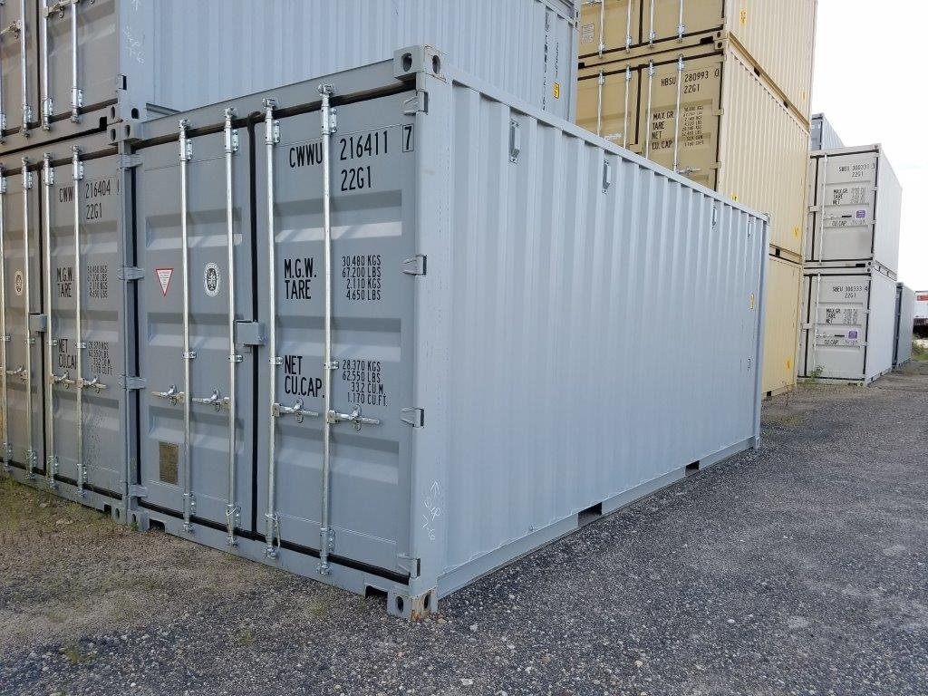A one-trip 20' container is like a blank canvas. The possibilities are endless.