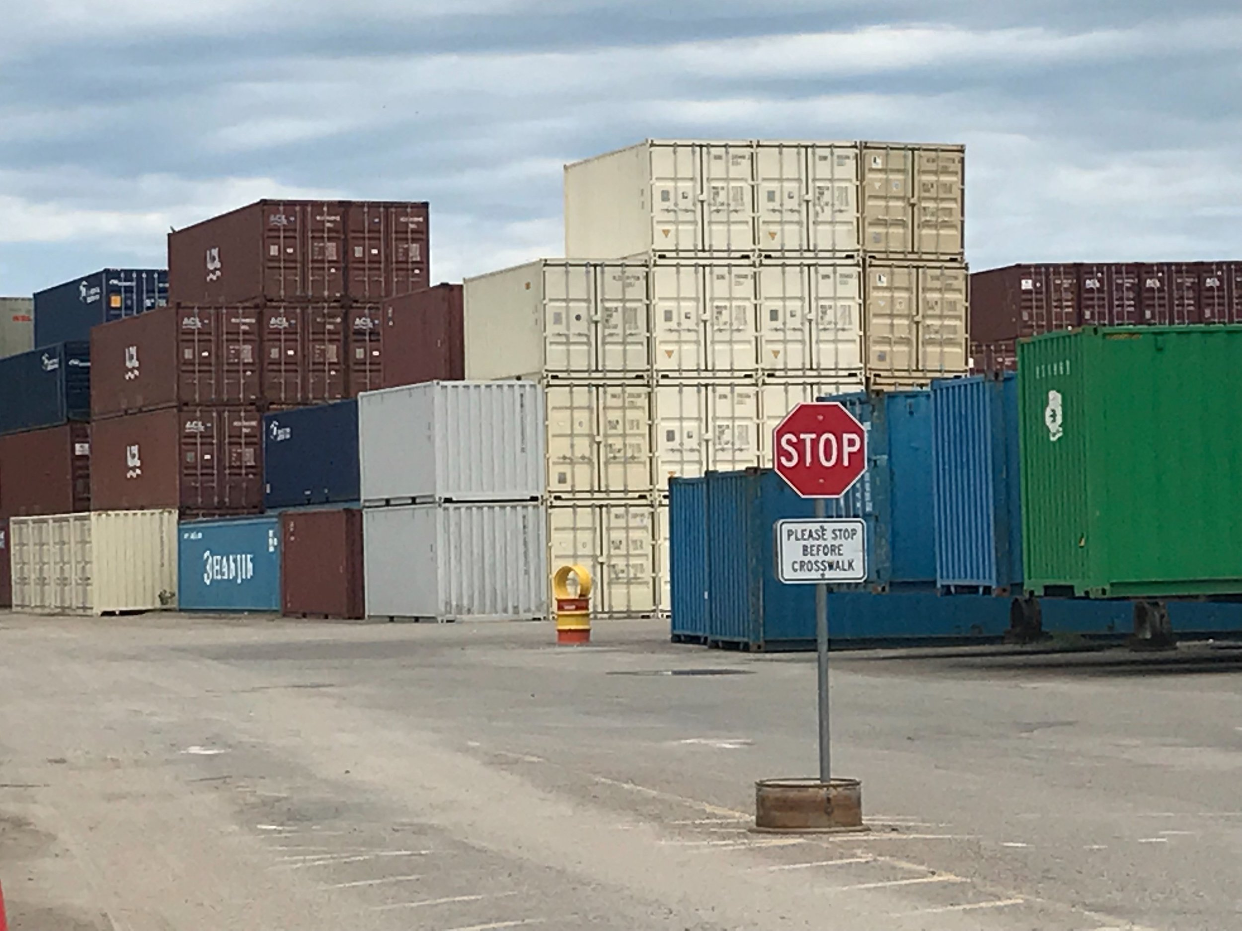 Contaienr yard with stop sign.jpg