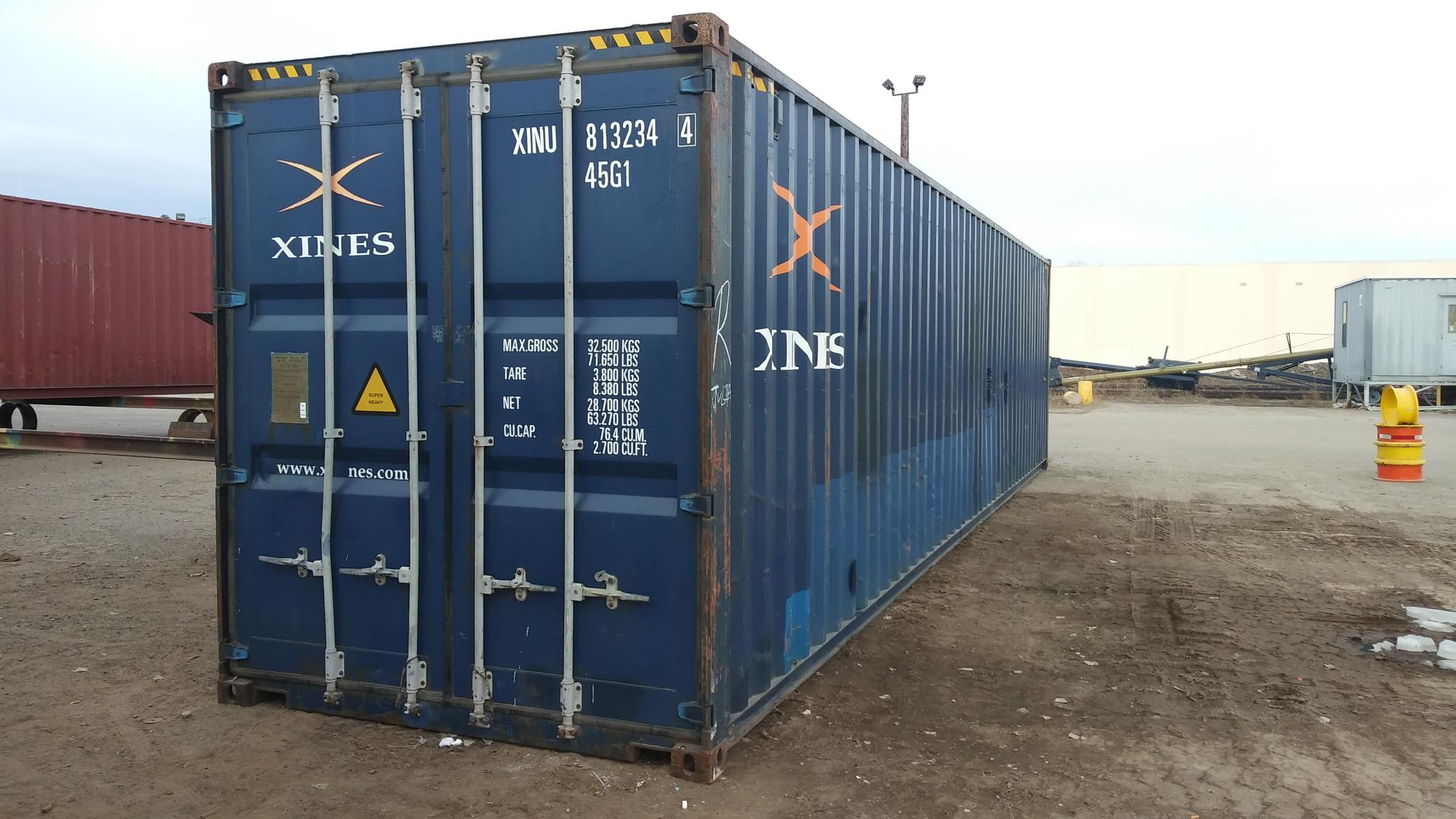 This workhorse of a 40' high cube is ready to be yours
