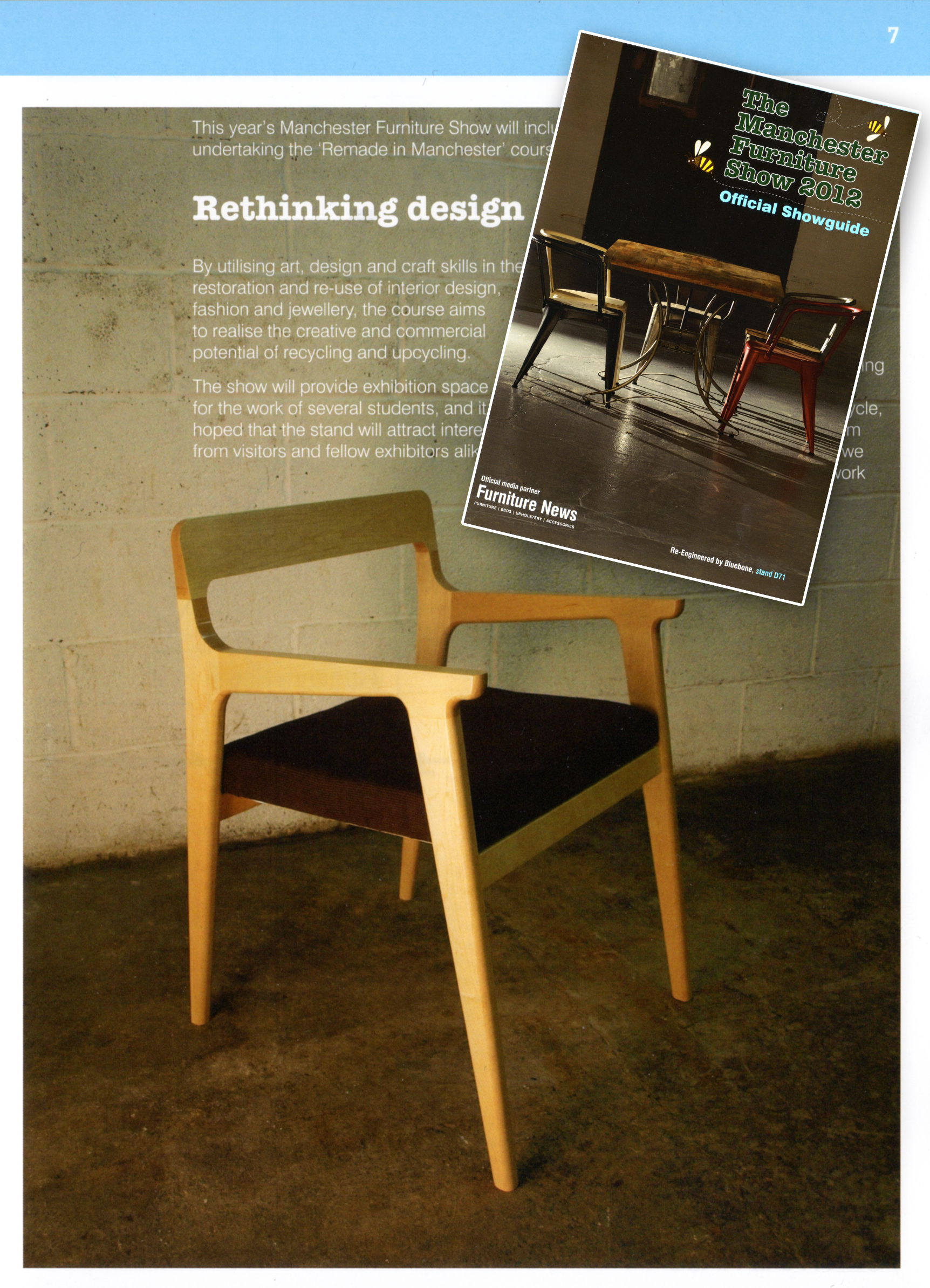 Manchester Furniture Show Guide 2012 - Dale Chair