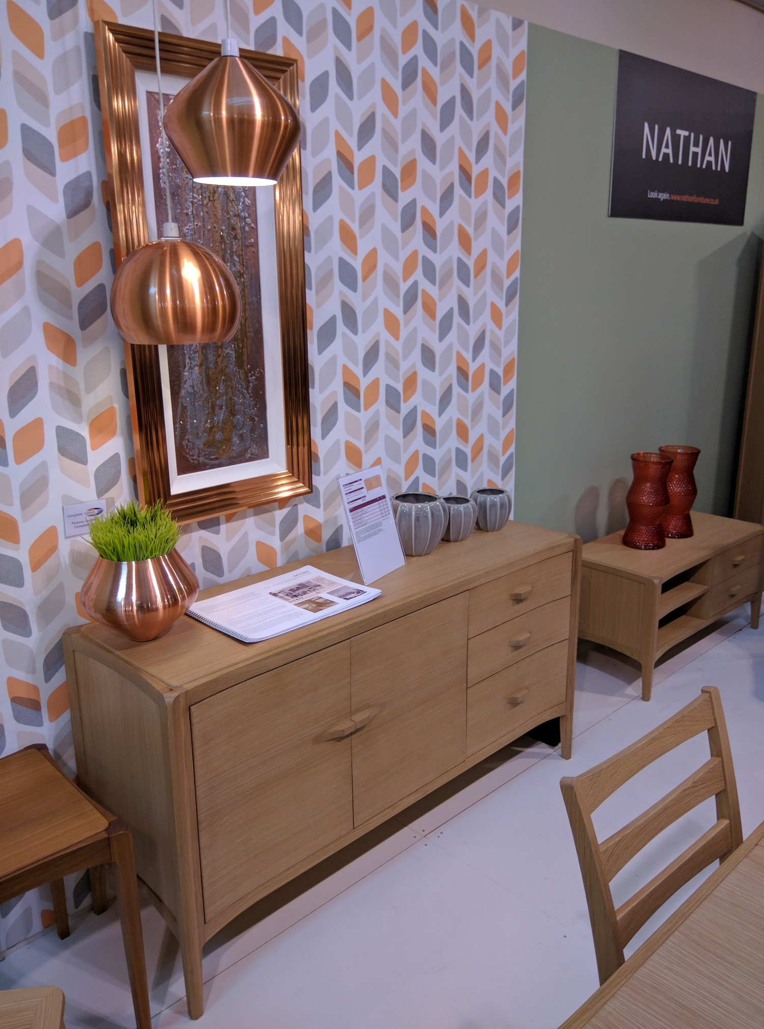 Contour  - designed for Nathan Furniture at the AIS Furniture Show