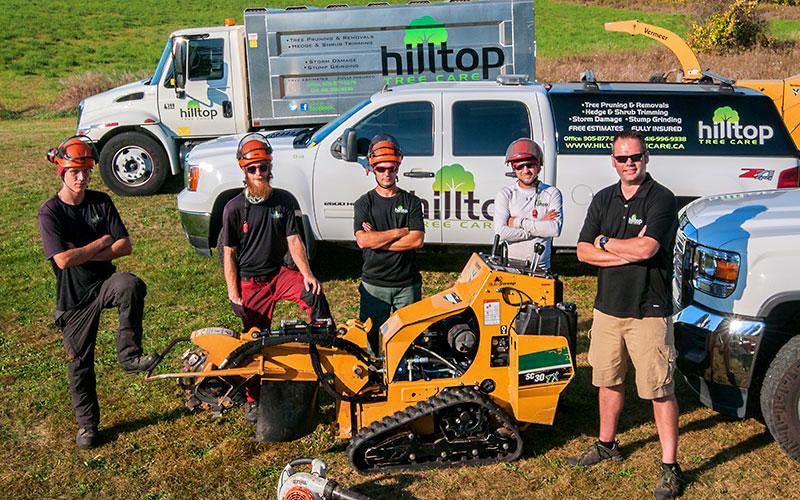 Hilltop Tree Care Crew