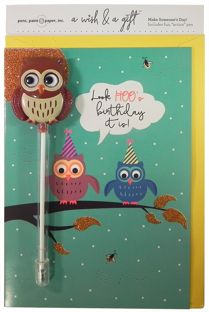 A Wish & A Gift - Owl  Coming Soon!