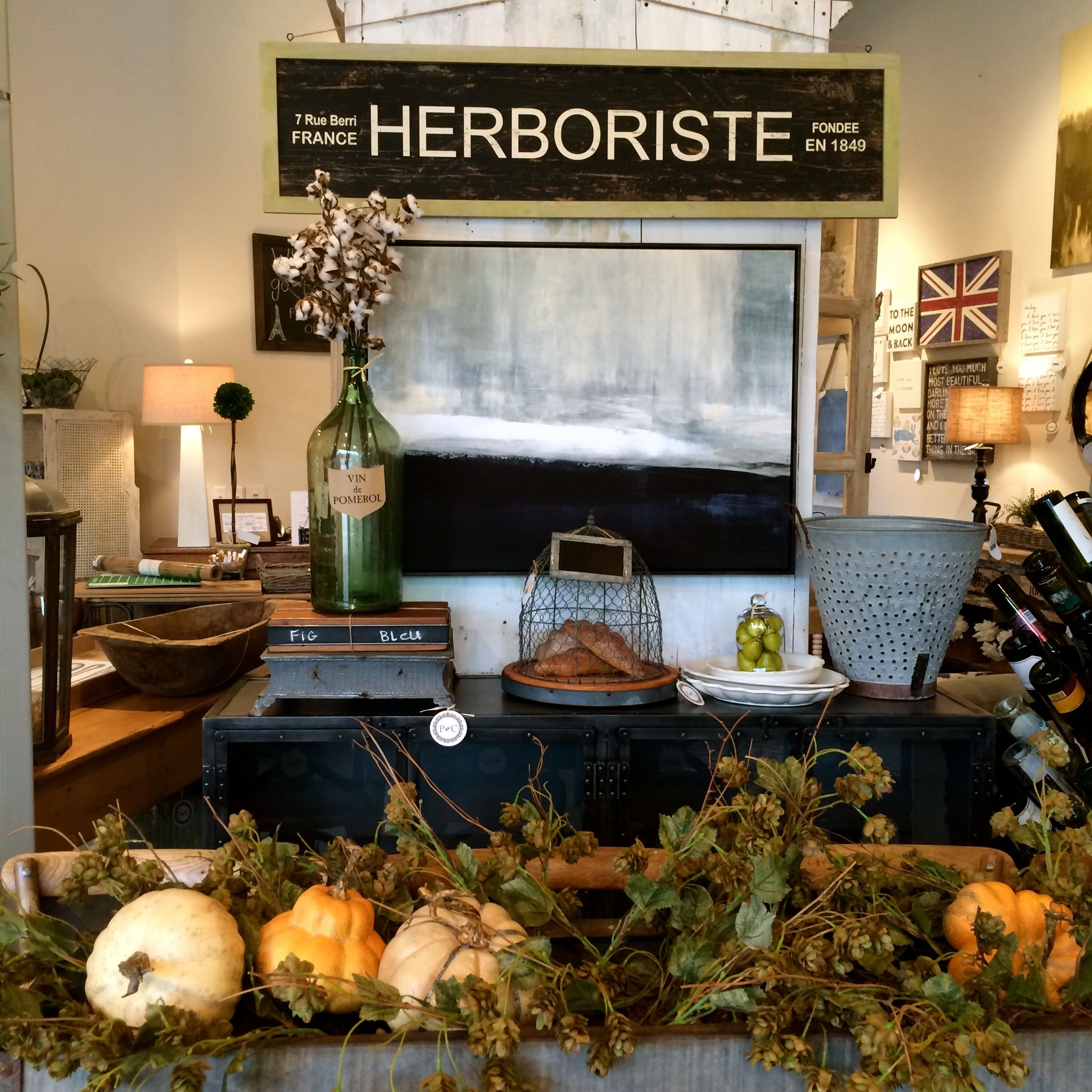 We LOVE our new black buffet. It's the perfect storage option for all your holiday entertaining.