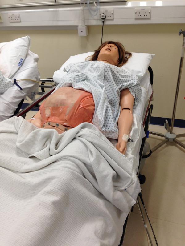 Resucitative Hysterotomy Scenario