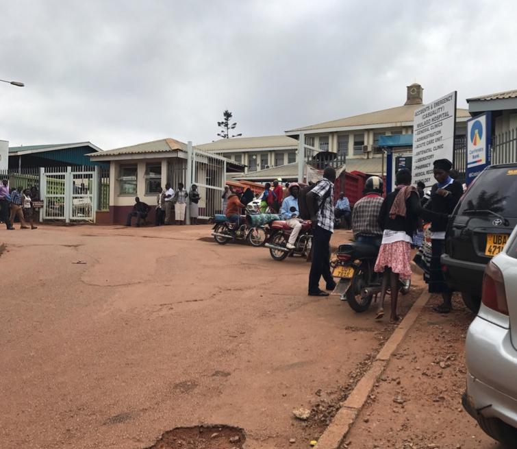 A&E at Mulago Hospital