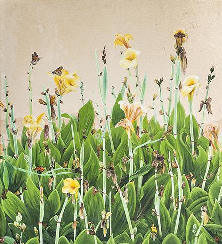kanna lilies (33x37)