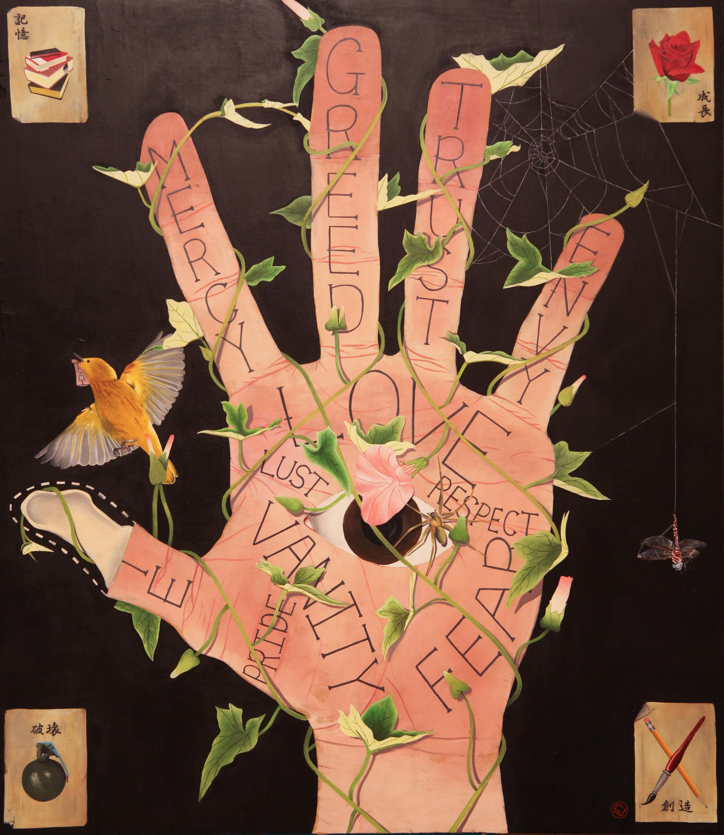 Tarot Hand (31x36)