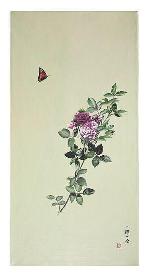 original ICHIGO ICHIE painting.