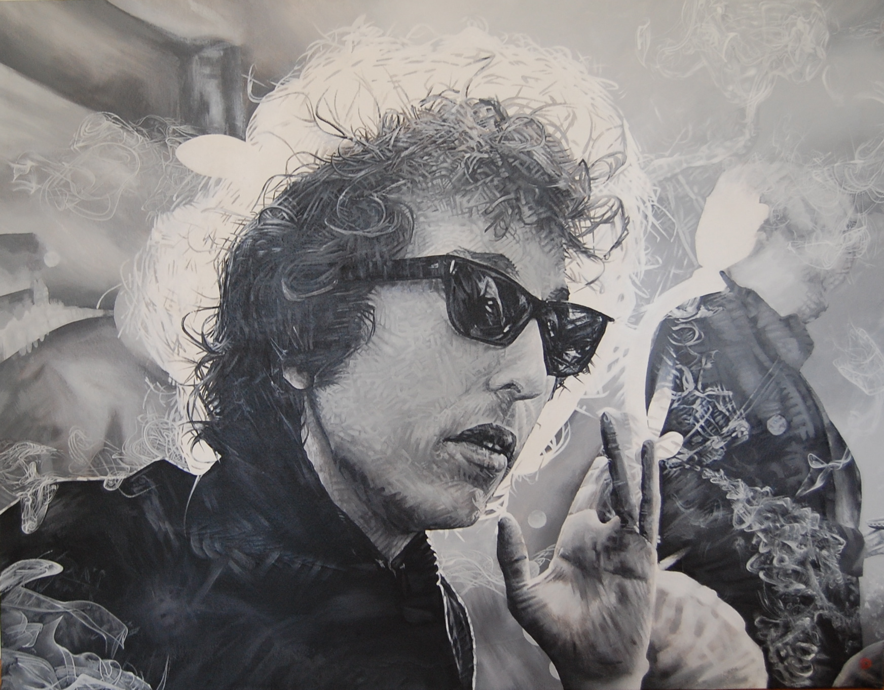 Bob Dylan 40x40