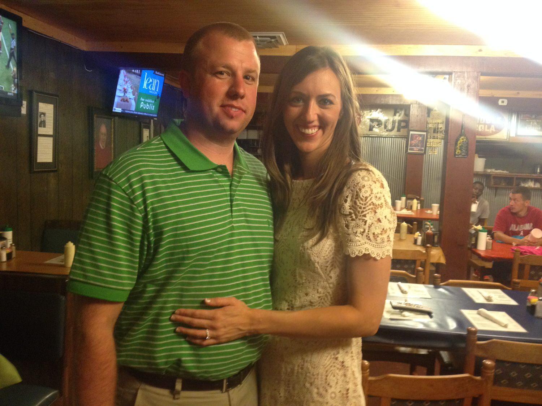 The future Mr. & Mrs. Smith!! (09/05/2014)