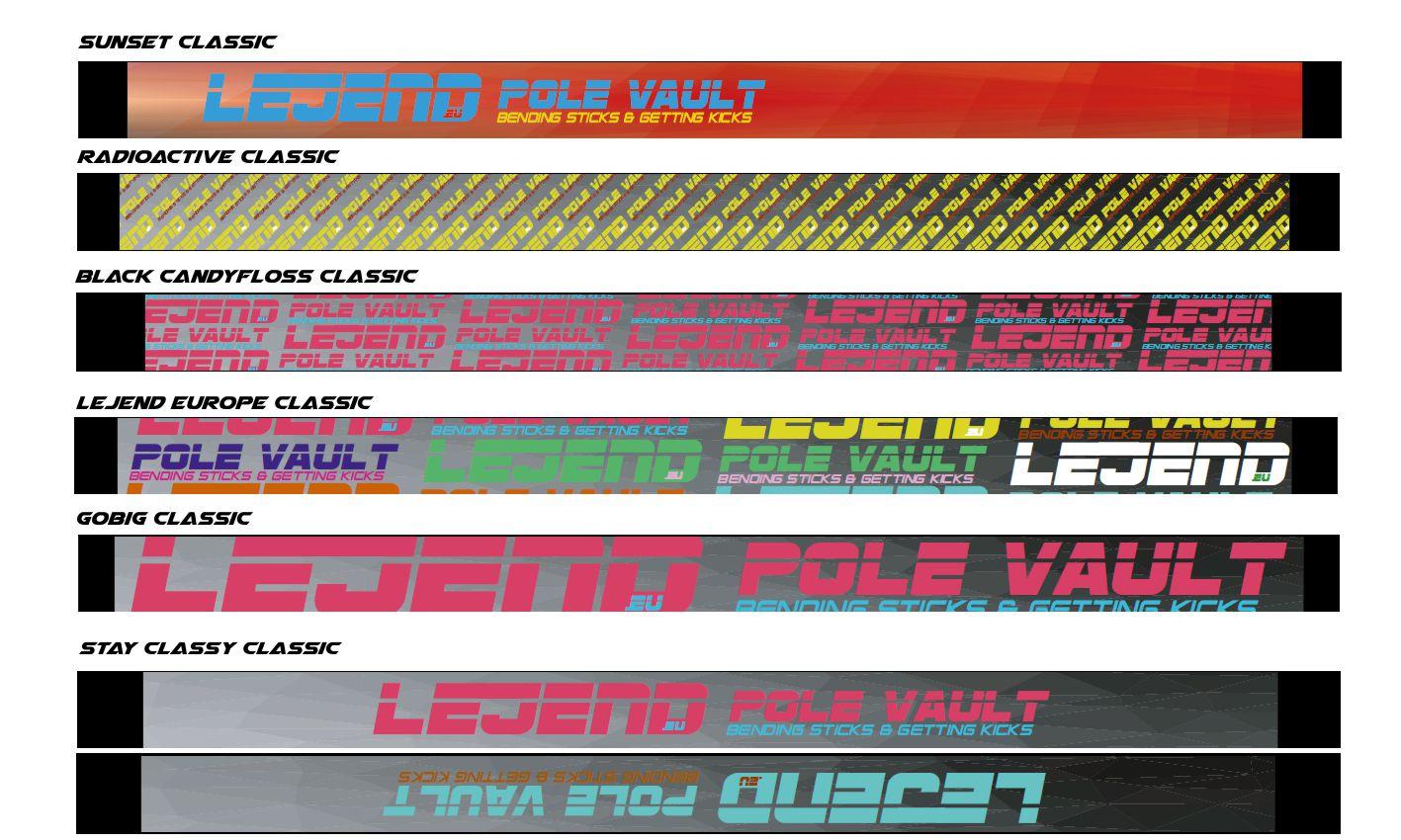 LEJEND CLASSIC POLE VAULT BAGS