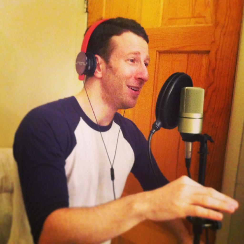 Recording Nick Blaemire for #10: %22Drive Around Please%22.jpg