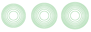 7-8-9 concentric circles