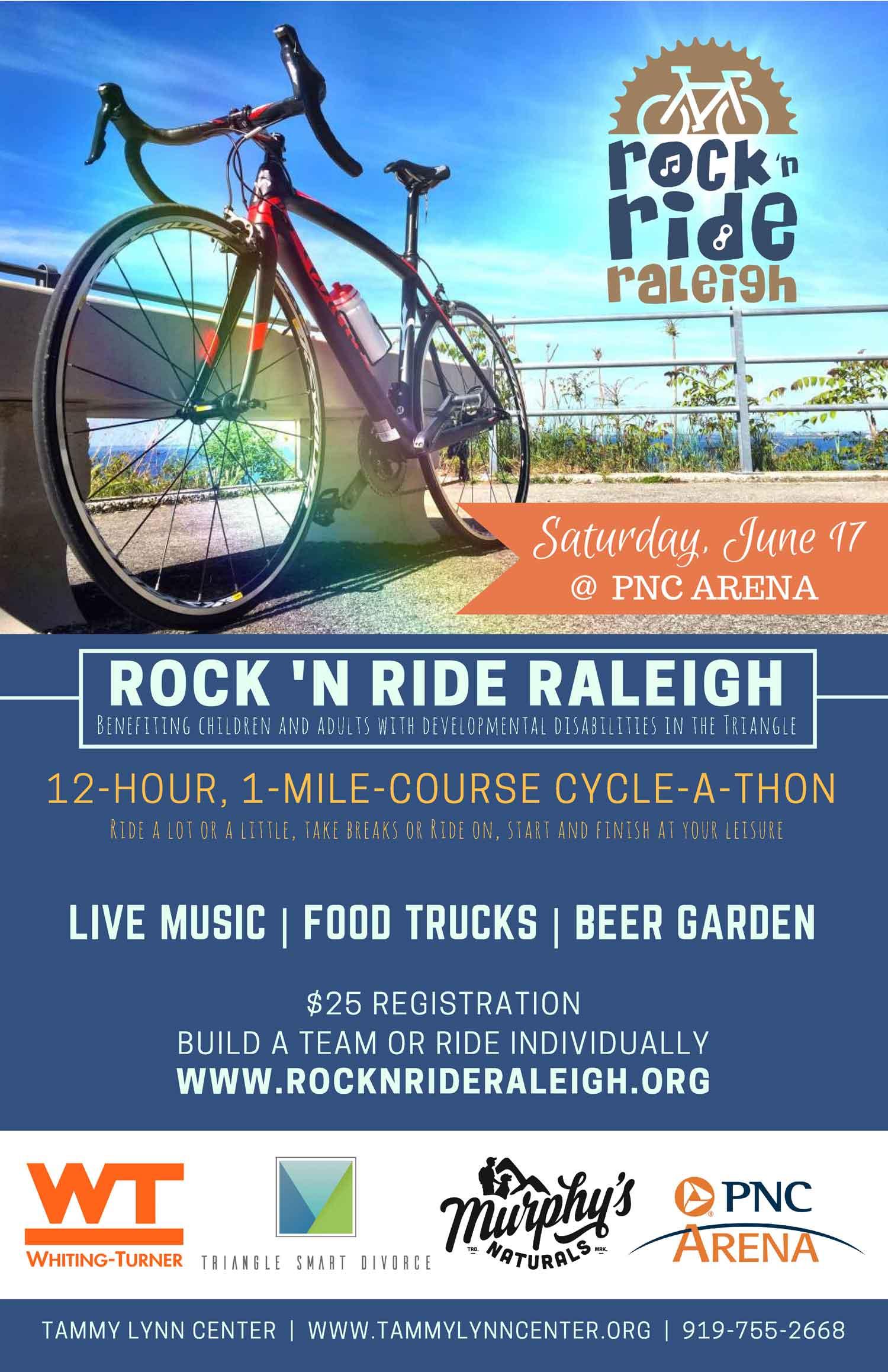 Rock n Ride Raleigh NC