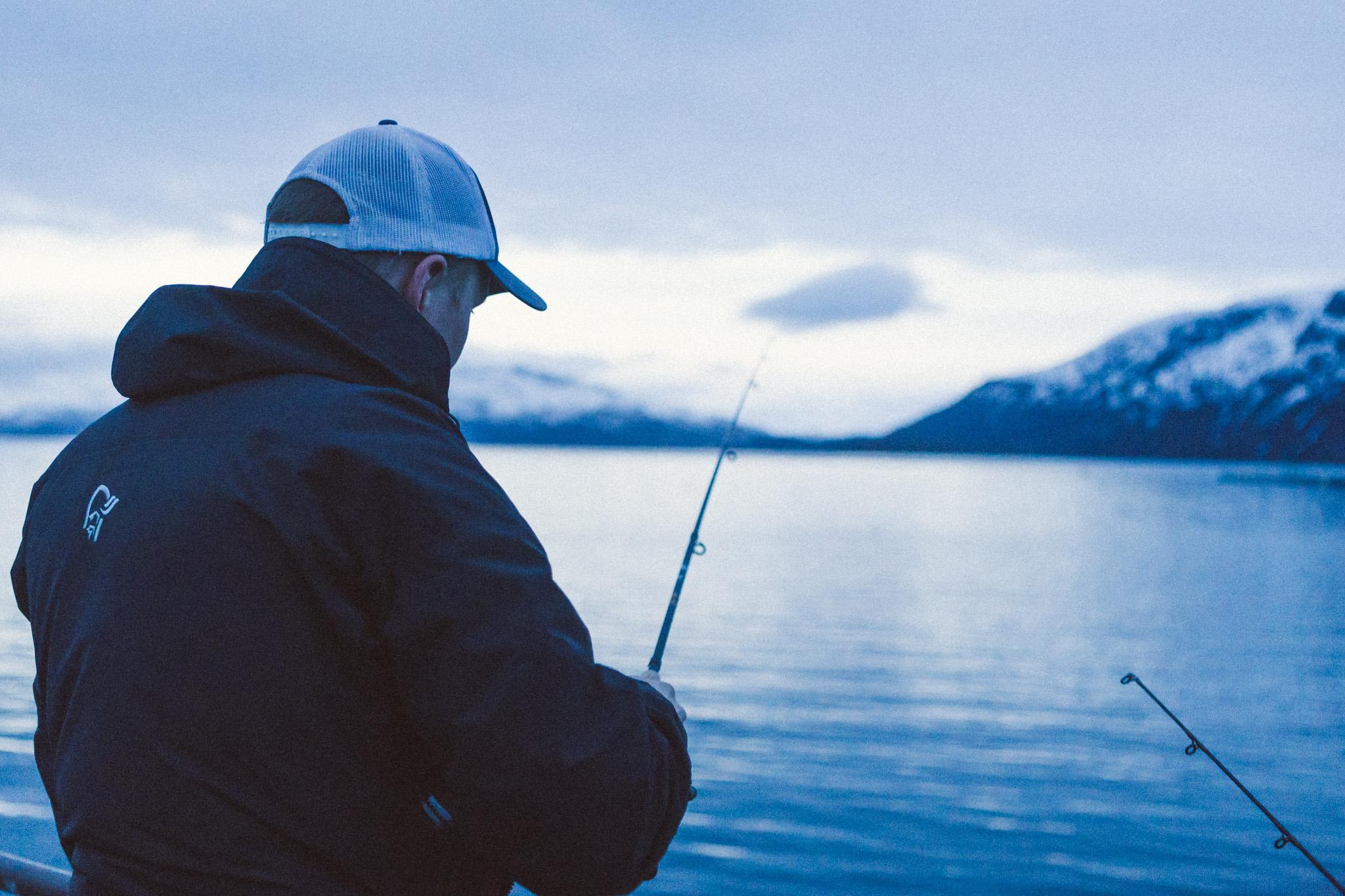 FISHING AT MIDNIGHT