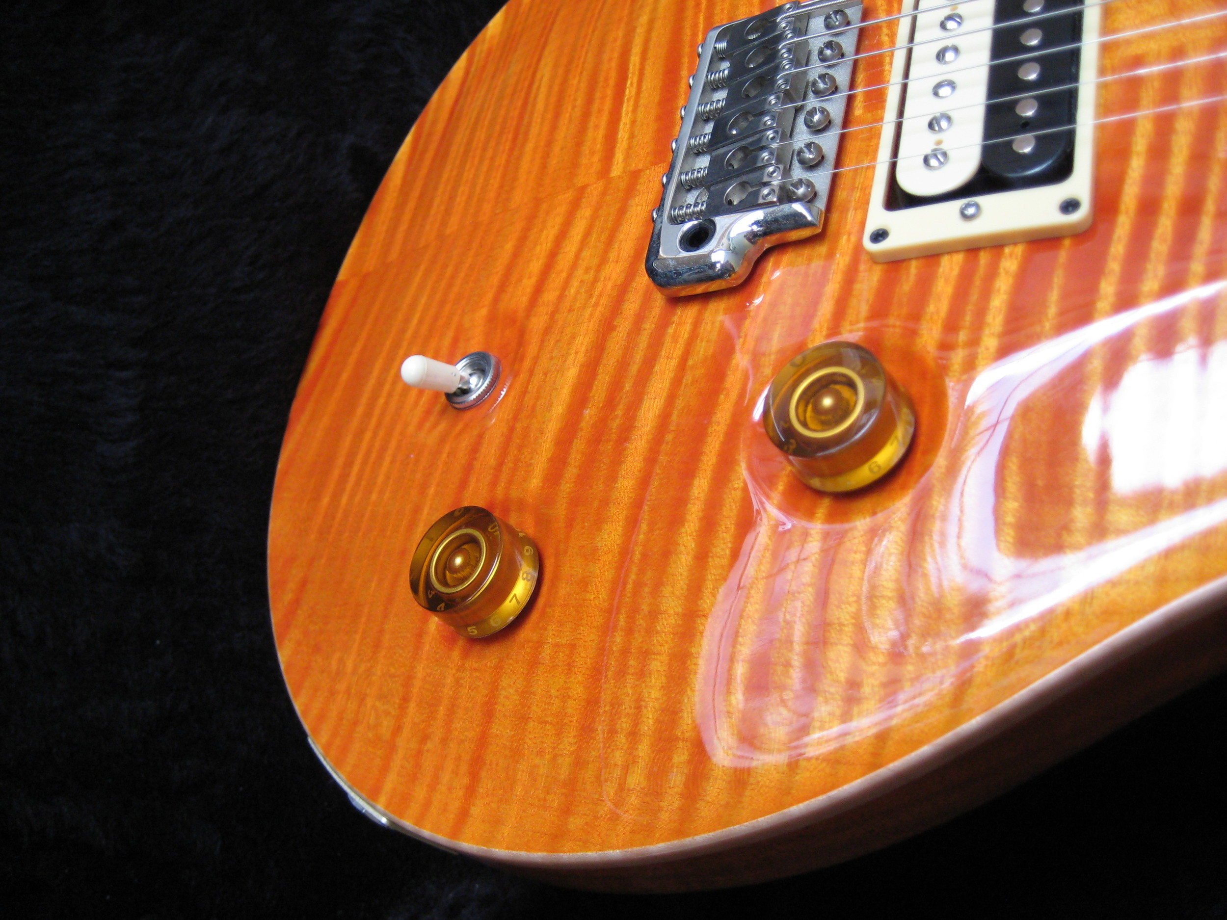 David Skinner PRS @ GTS, Guitar Modification