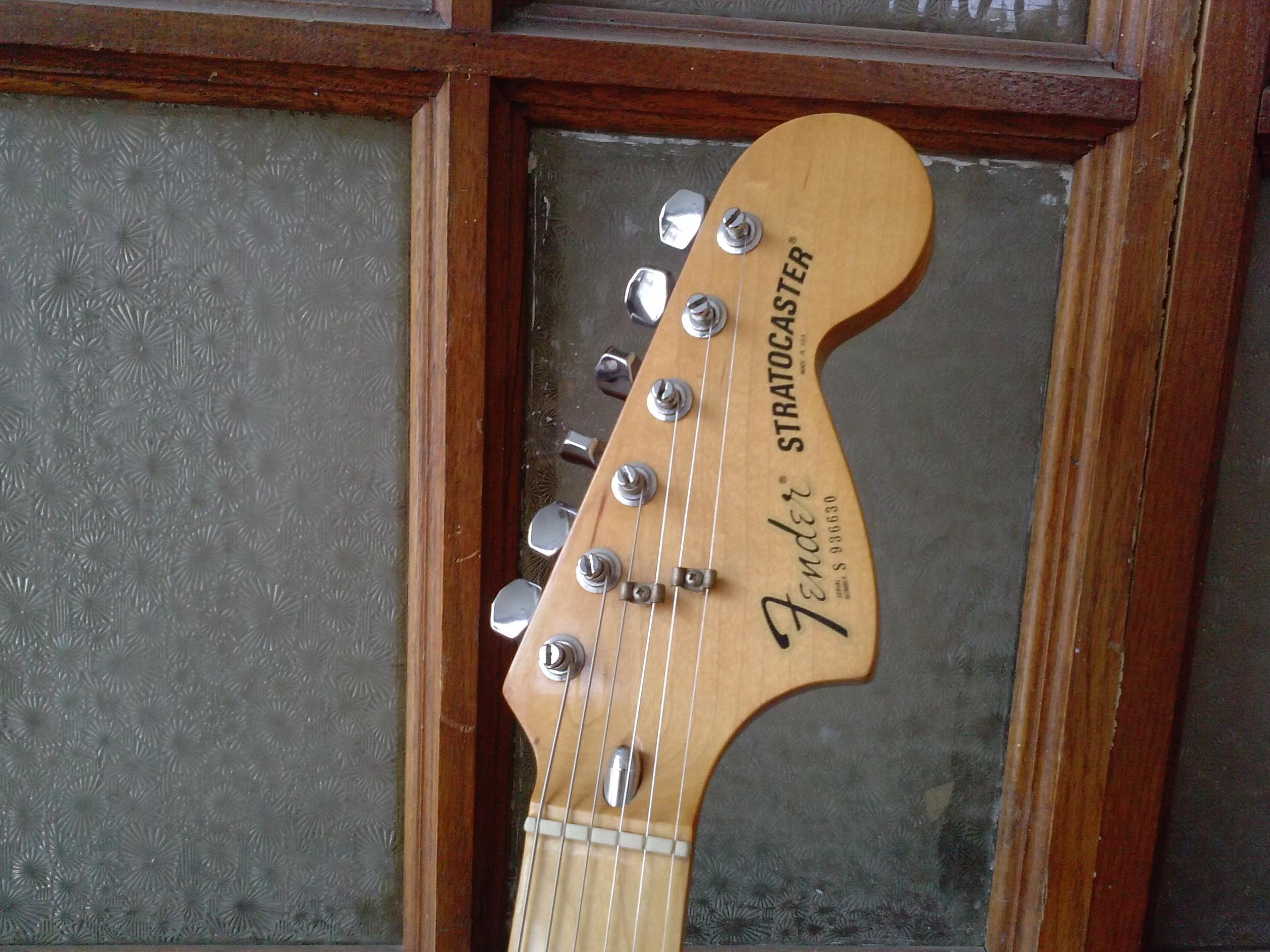 Vintage Fender Tulsa Guitar Repair GTS