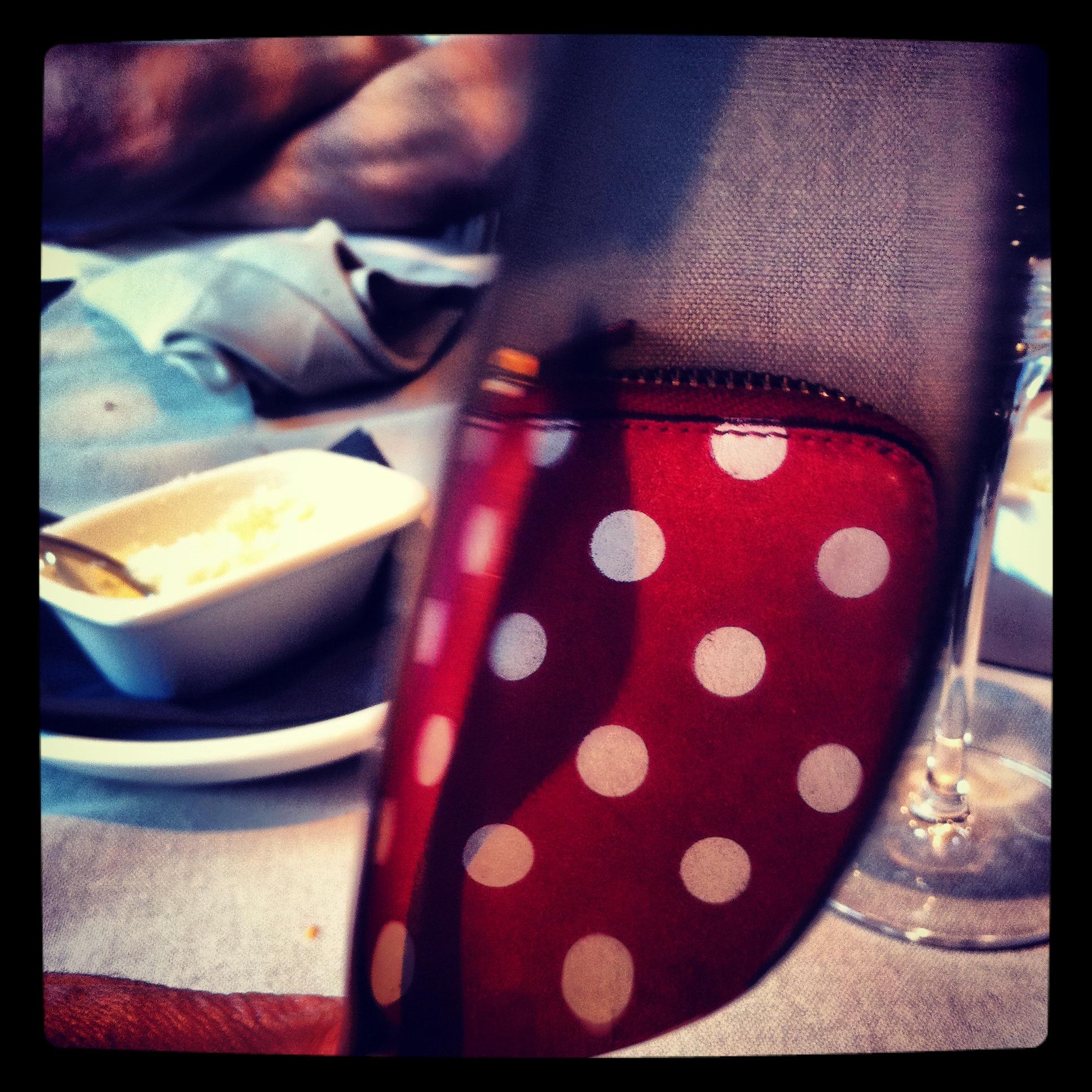 Polka dot knife