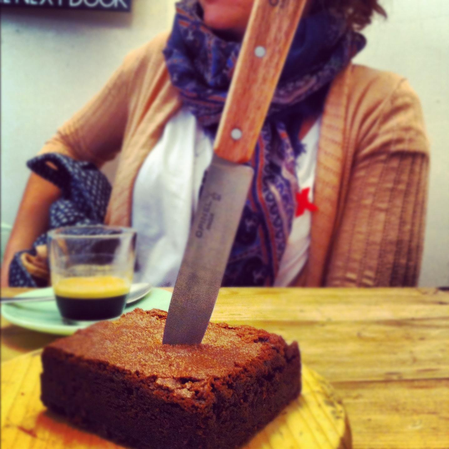 Killing a brownie