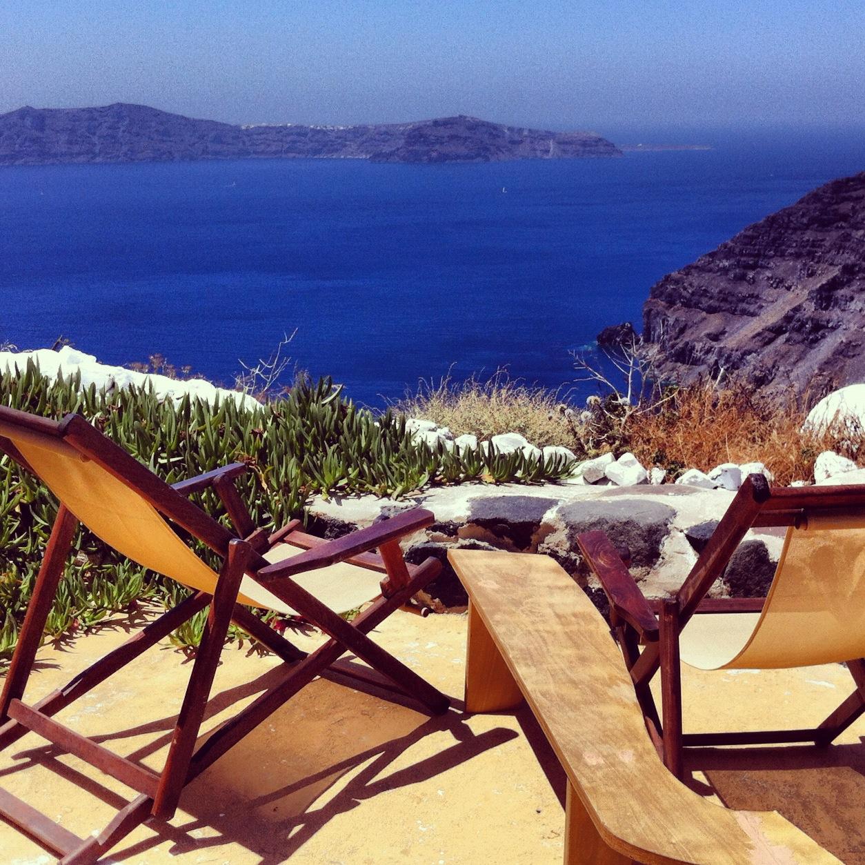 Morning view, Santorini