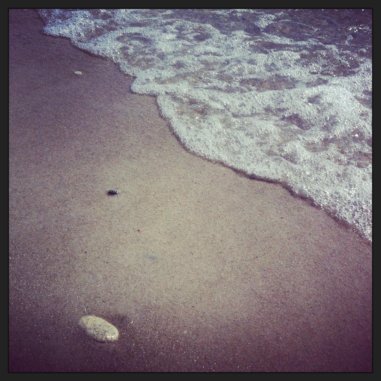 Gathering pebbles