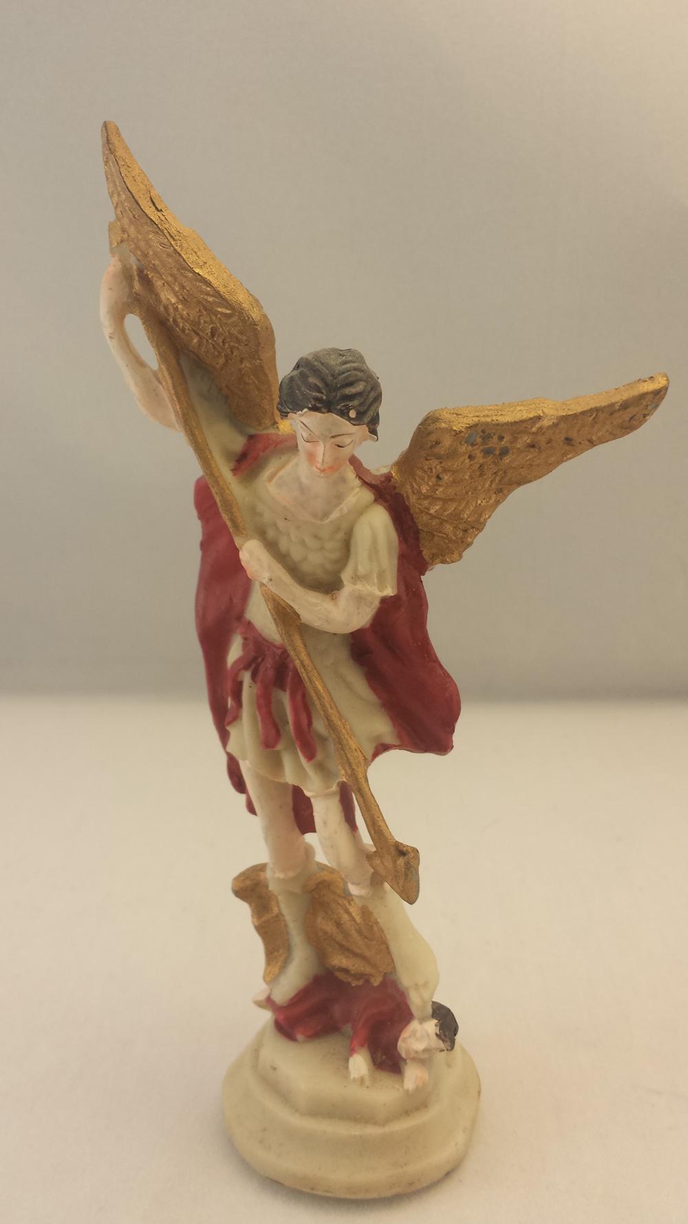 Painted Plastic Archangel Michael