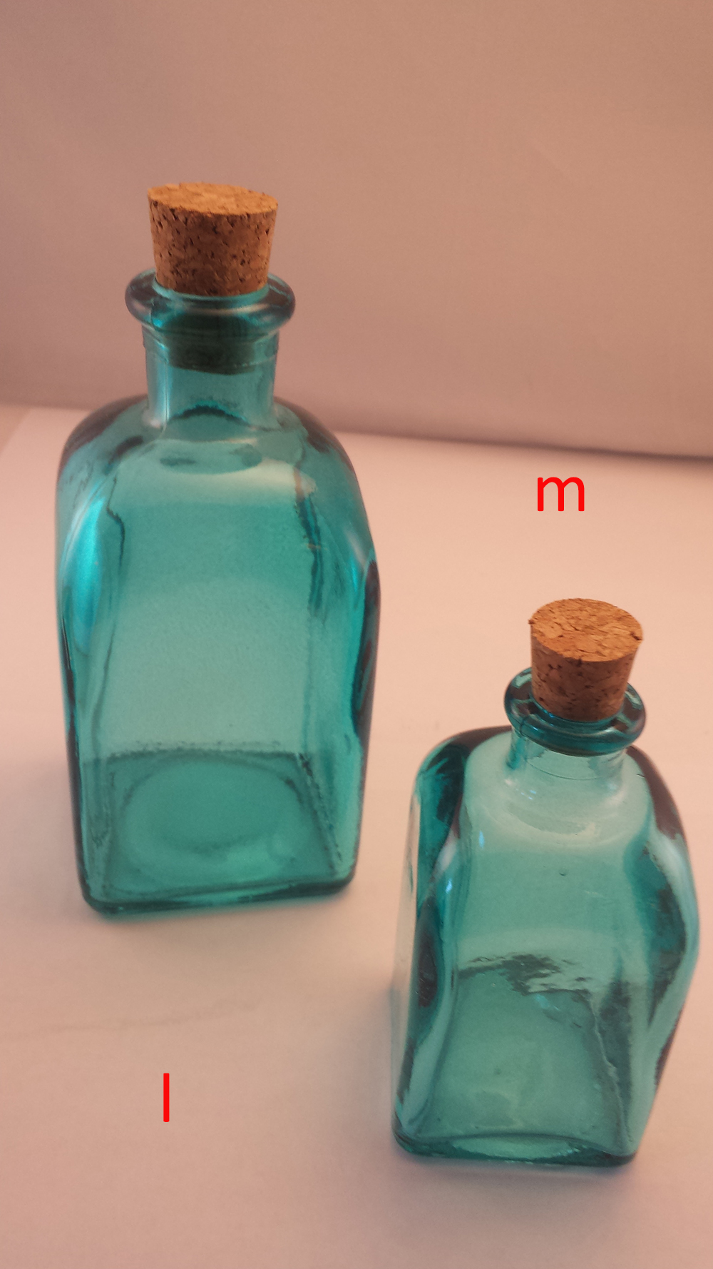 Cork Glass Bottles