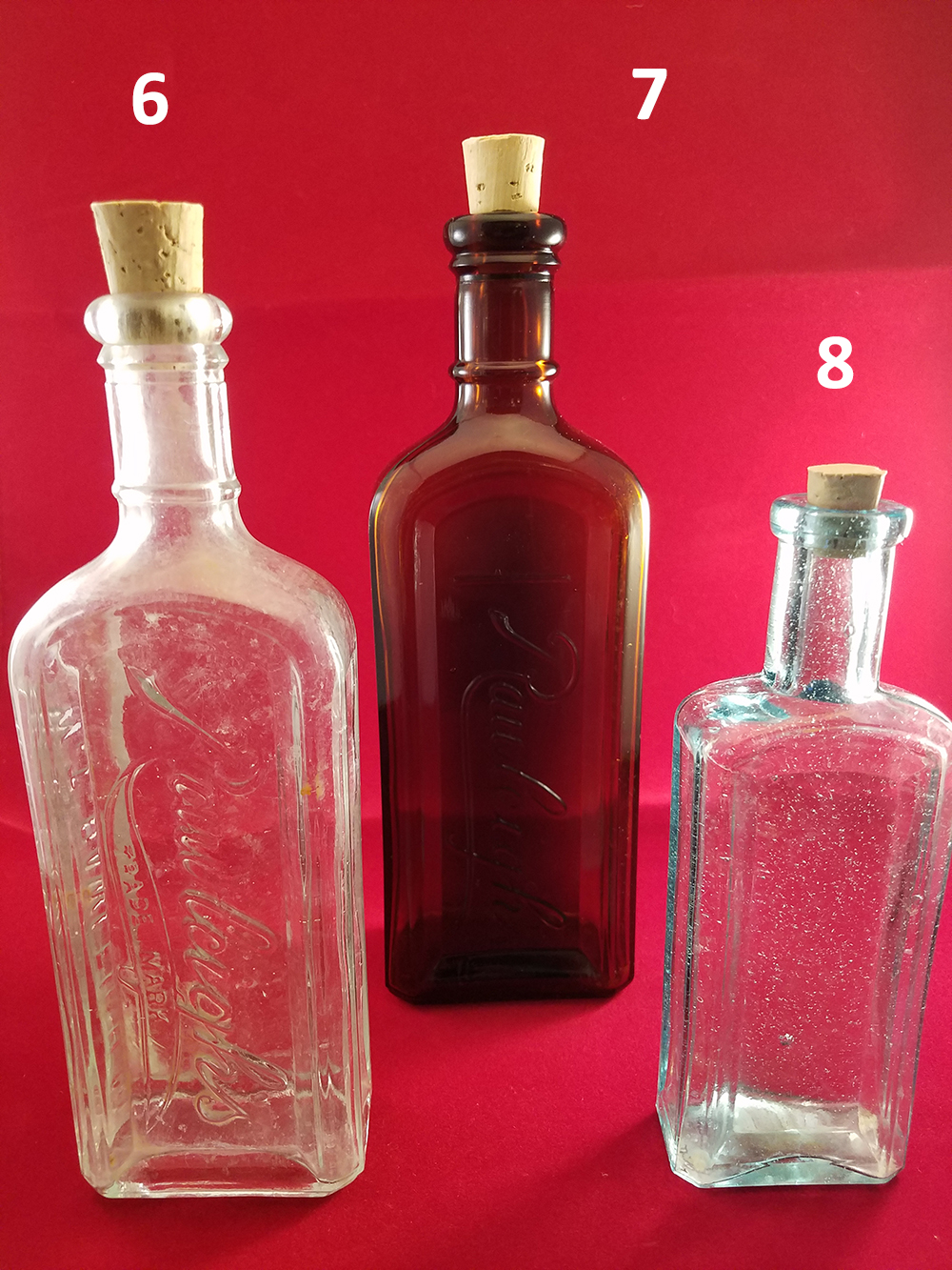 Antique Reuse Corked Bottles