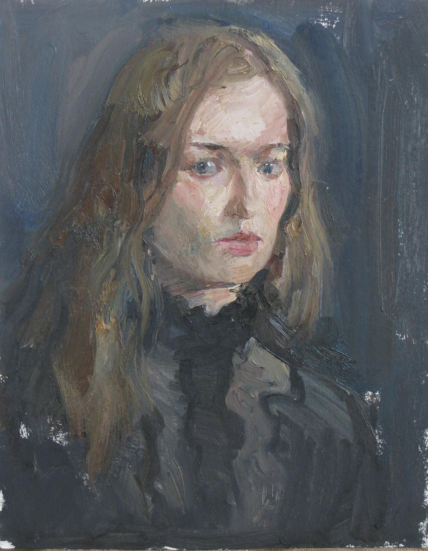 Iliya Mirochnik, Portrait Sketch of Svetlana.jpg