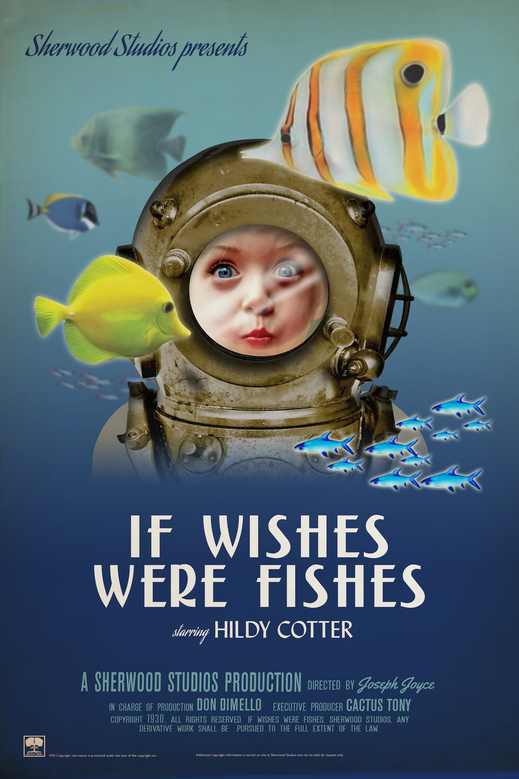 """""""If Wishes Were Fishes"""" movie poster"""