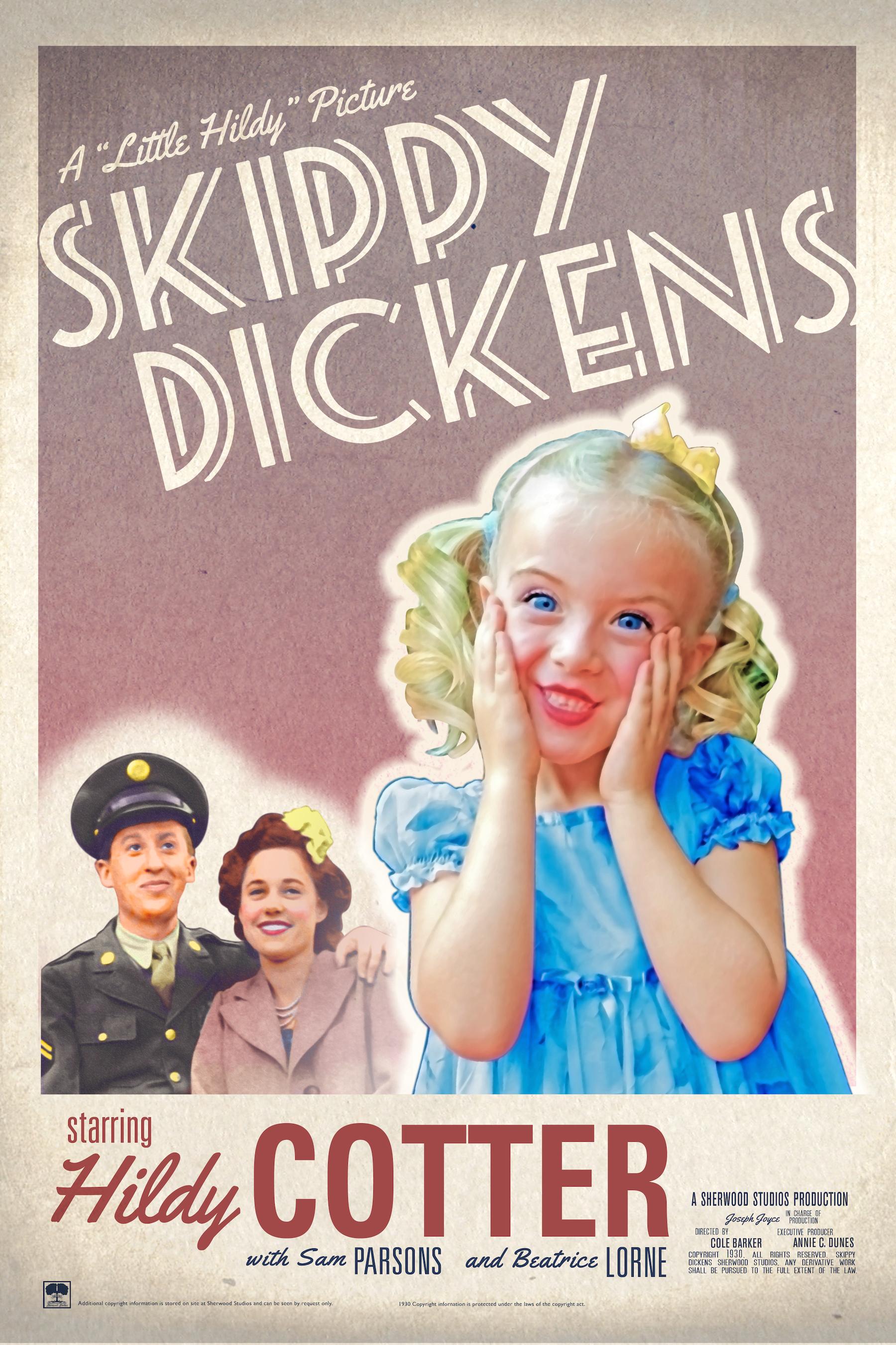 """Skippy Dickens"" movie poster"
