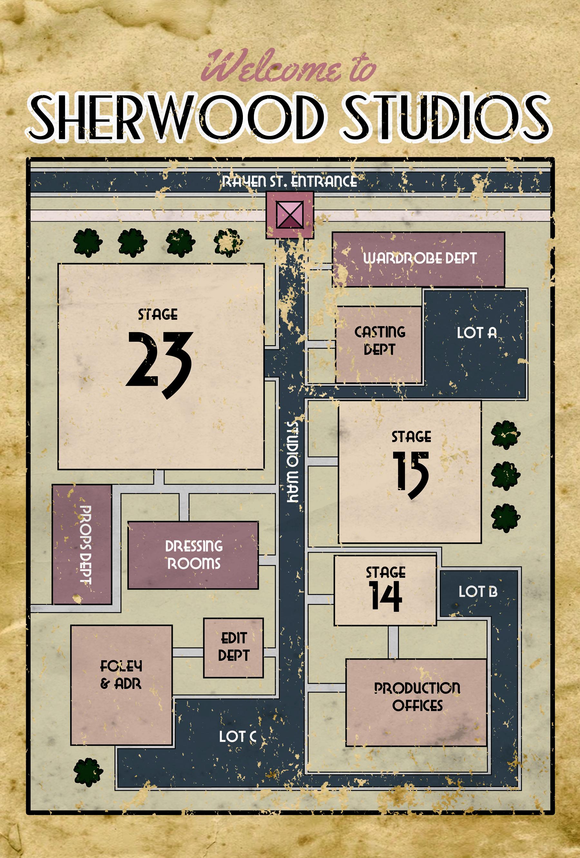 """Sherwood Studios"" map"
