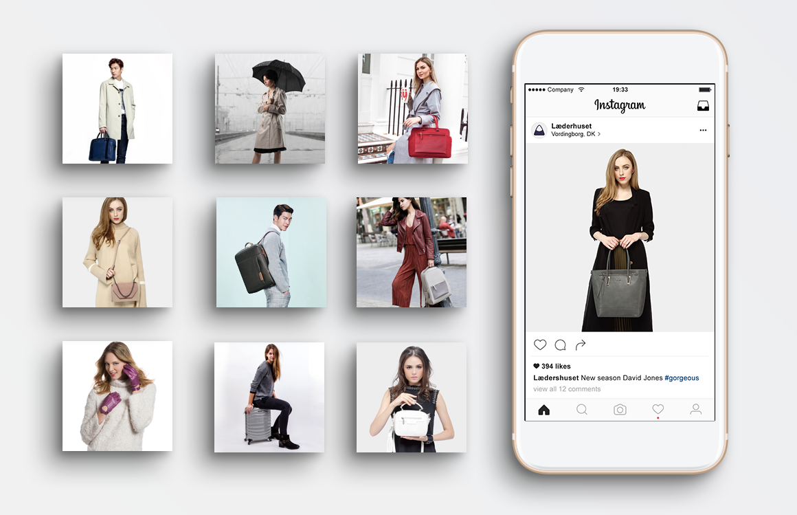 Læderhuset - Instagram Campaign by THAT Branding Company - Creative Design and Branding Agency in Newcastle