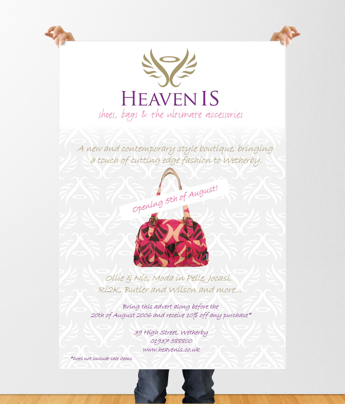 Heaven Is - Opening poster - THAT Branding Company - Creative Design and Branding Agency in Newcastle and Gateshead.jpg