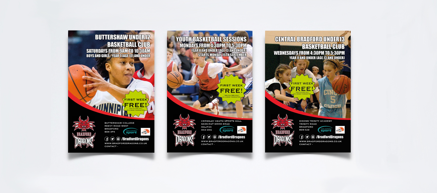 Bradford Dragons - Promotional leaflets - THAT Branding Company - Creative Design and Branding Agency in Newcastle and Gateshead.jpg