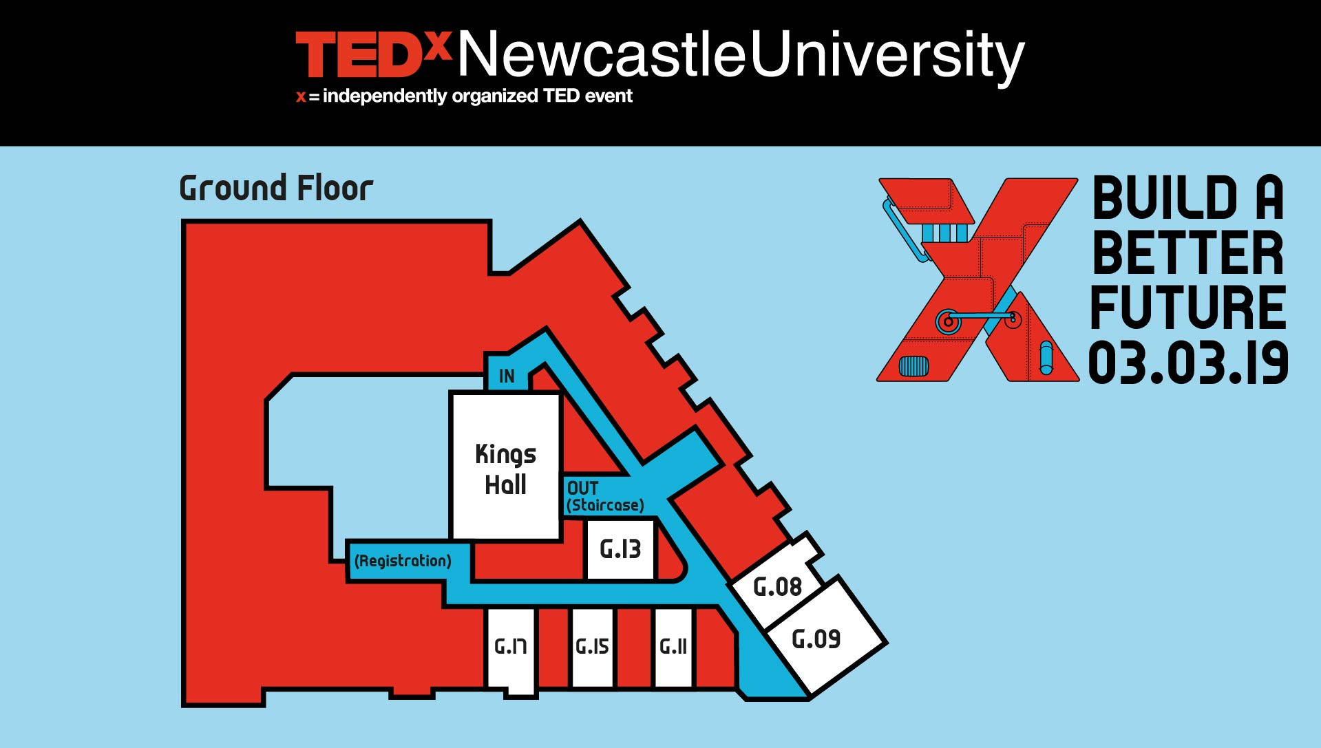 THAT Branding Company - Ethical Creative Design and Branding Agency in Newcastle Gateshead and Durham created the maps used in the conference.