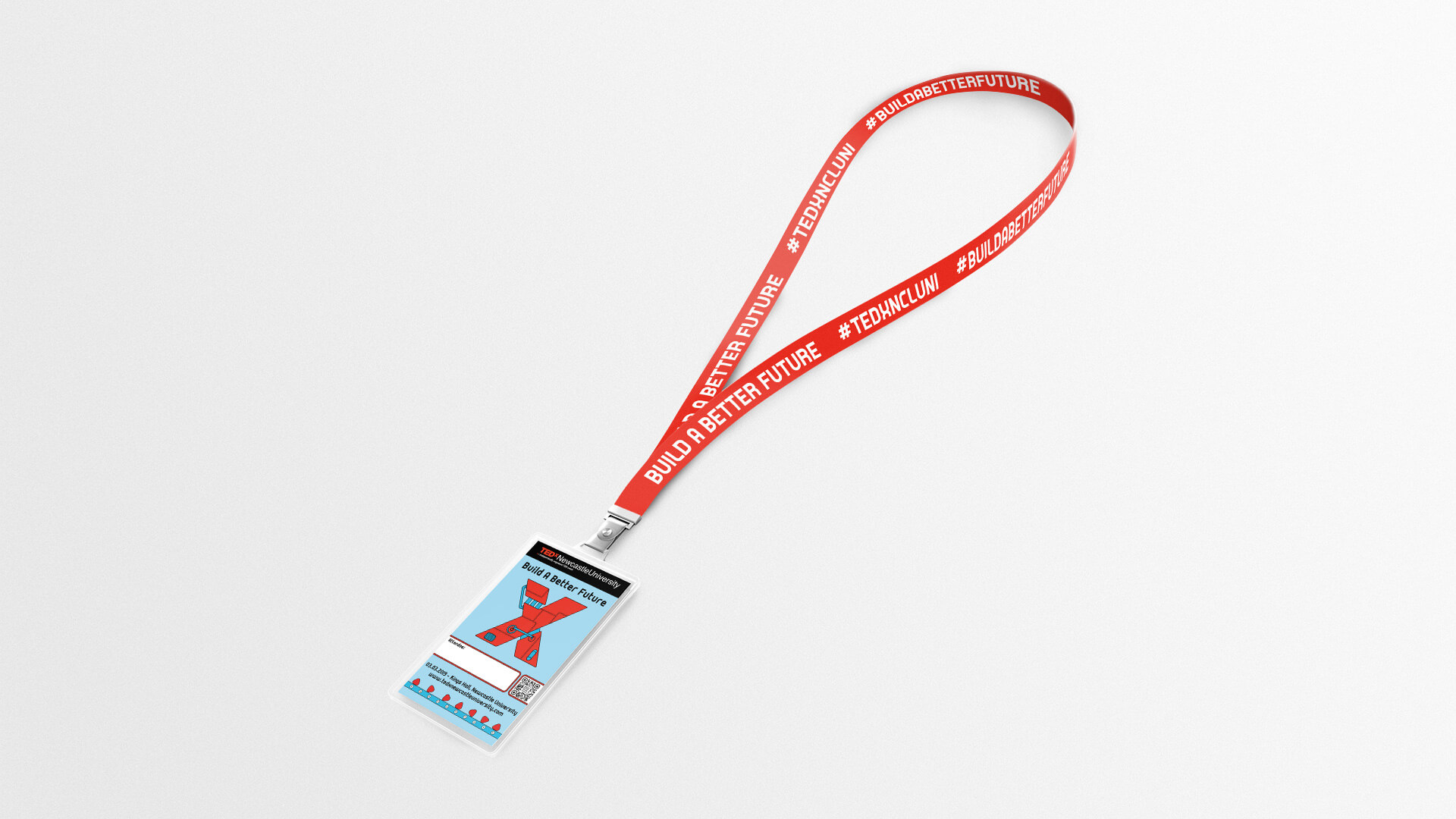THAT Branding Company - Ethical Creative Design and Branding Agency in Newcastle Gateshead and Durham created the lanyard used in the conference.