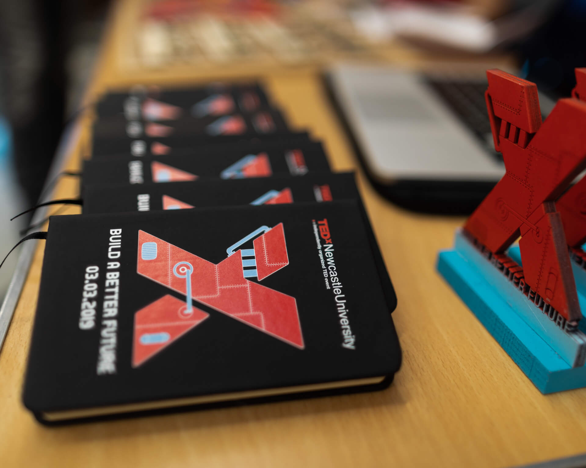 THAT Branding Company - Ethical Creative Design and Branding Agency in Newcastle Gateshead and Durham created the Notebooks used in the conference.