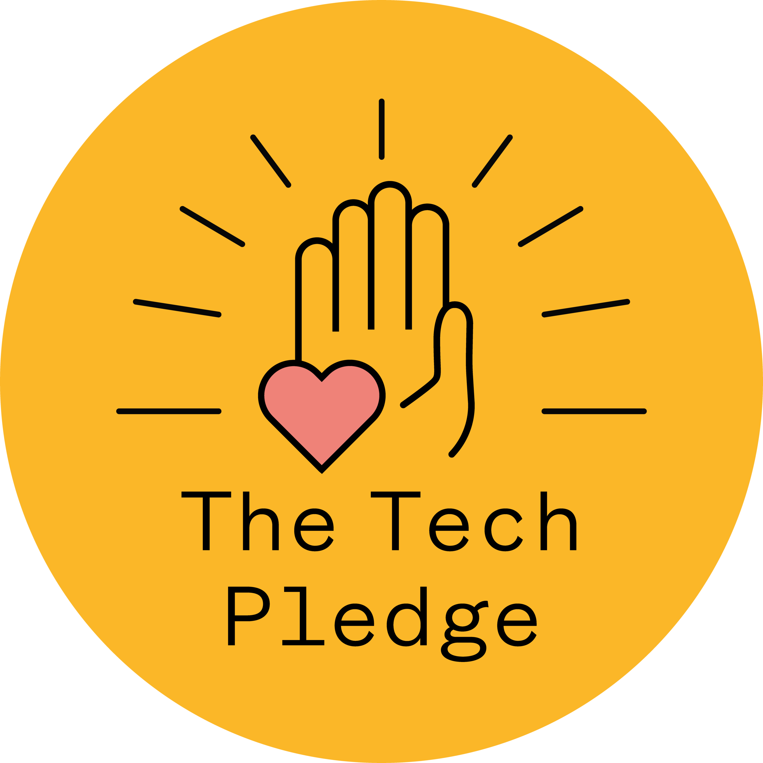 THAT Branding Company are proud to take the Tech Pledge - Tech Pledge-Hand.png