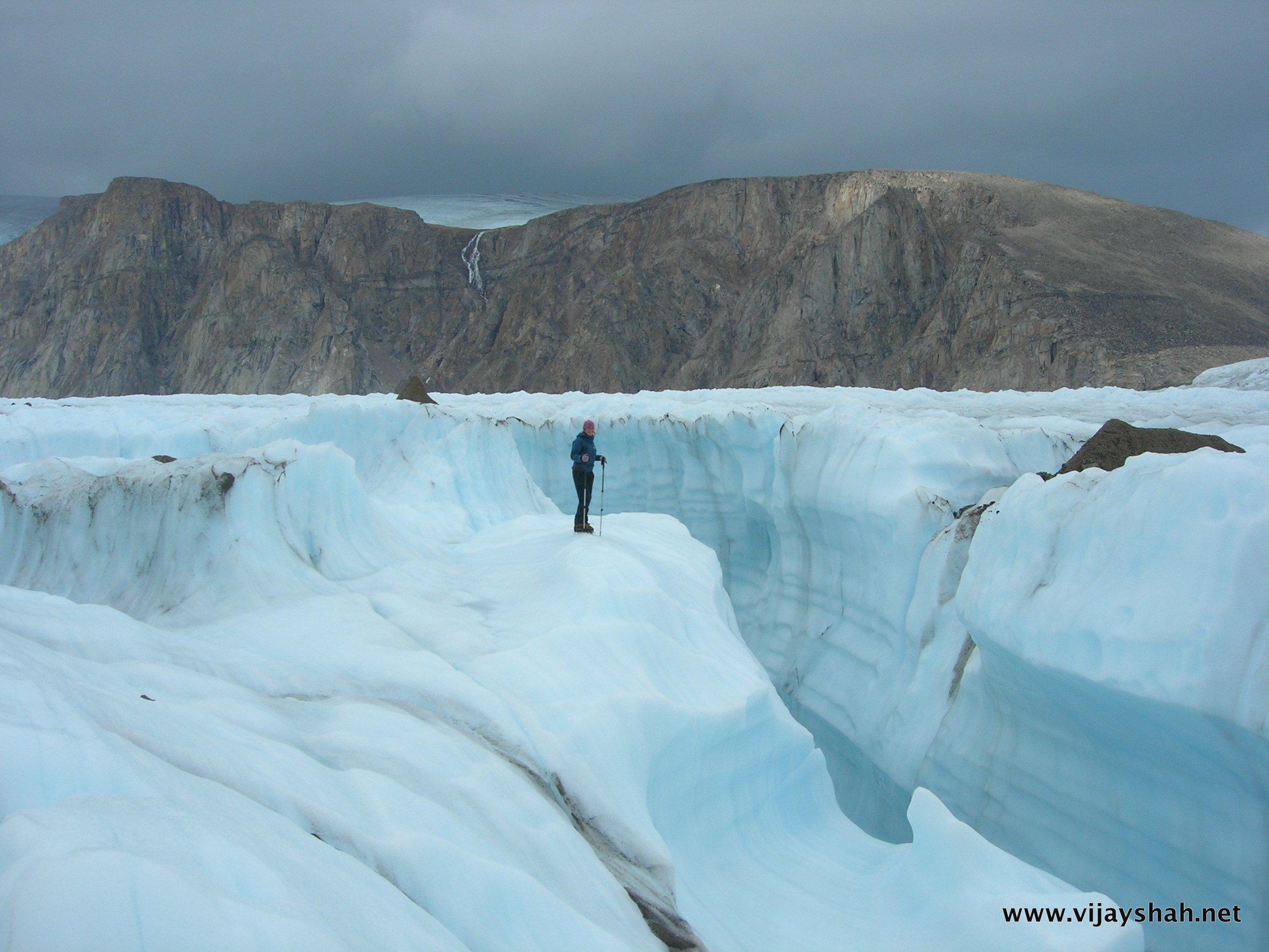 Ice Chasm