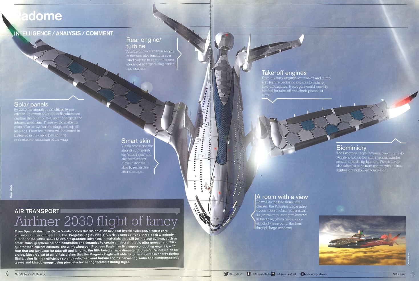 Source: AeroSpace Magazine (April 2015)