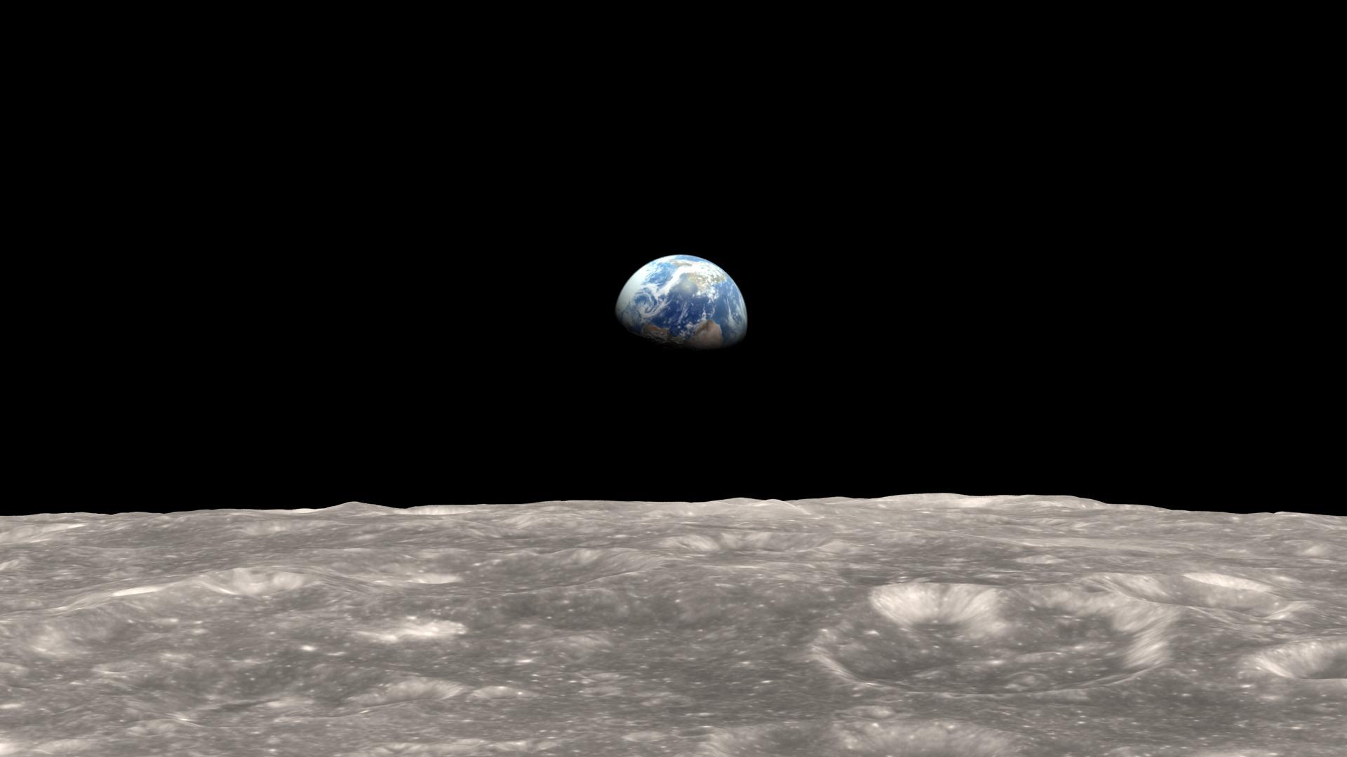 Earth Rise (Source NASA)