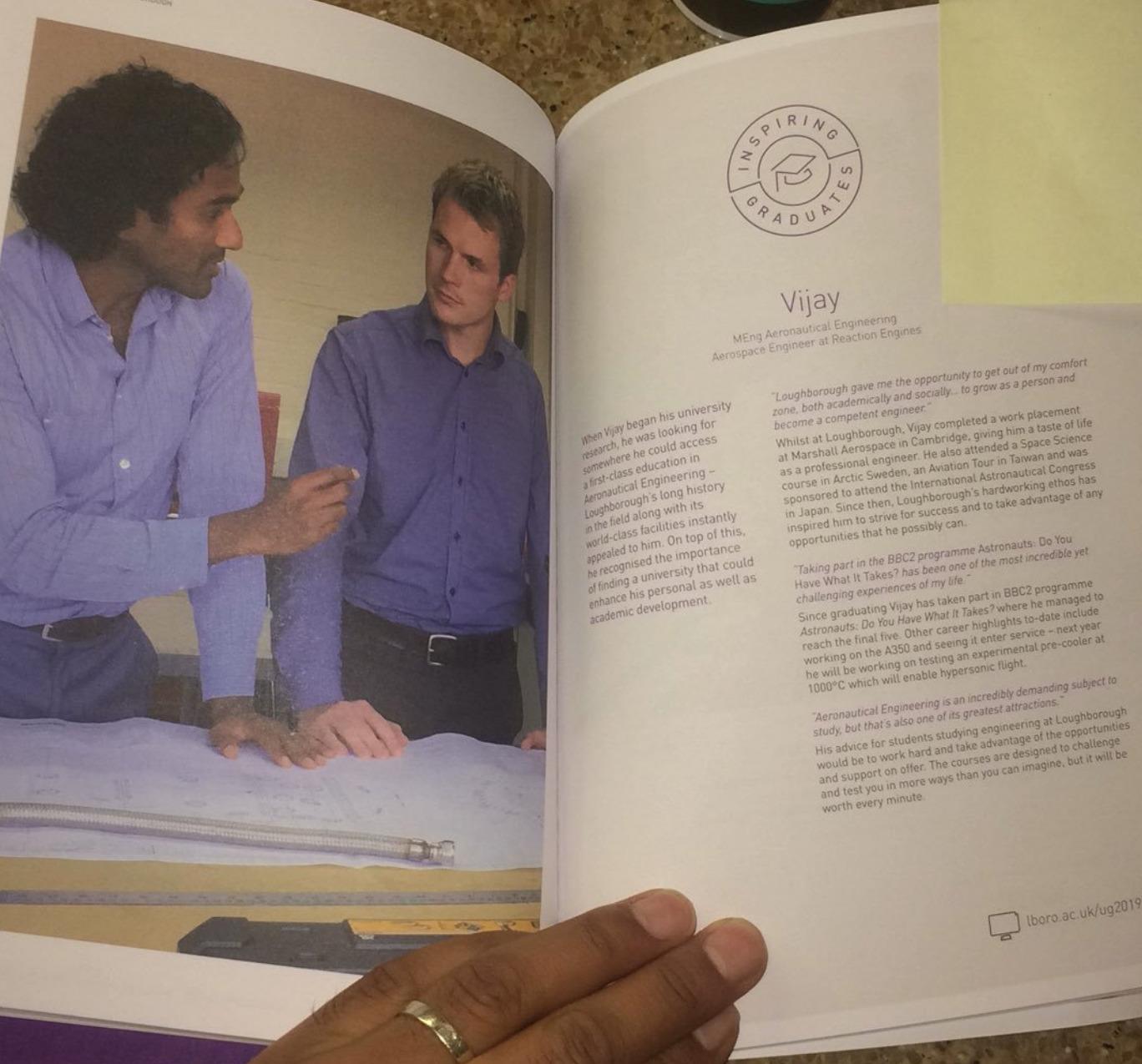 Book:  Loughborough Unviversity - Inspiring Graduates