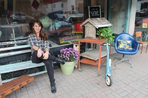 Amy Hughes, Owner of Salvage Style in Maplewood