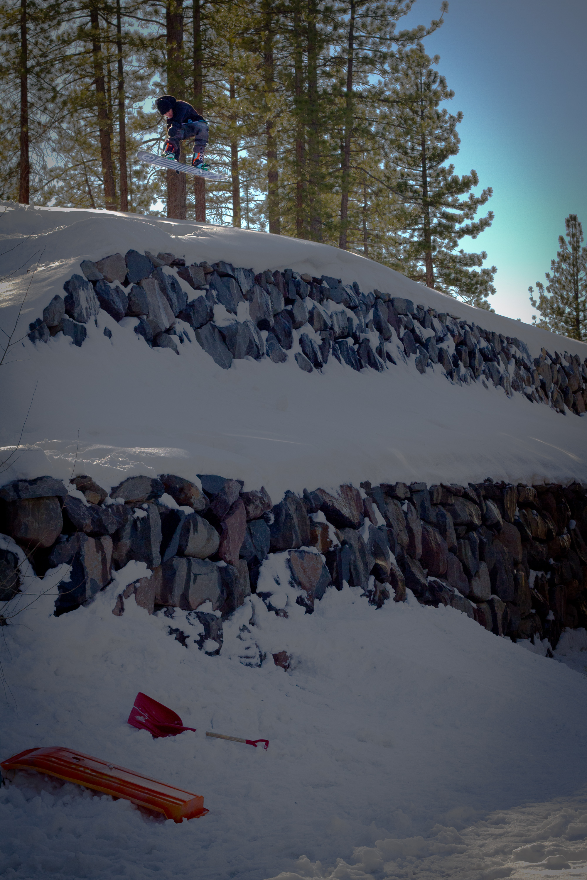 Connor Campbell // Sawmill Heights, Tahoe, California USA // March 2012